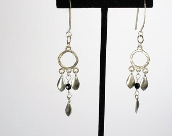 Sterling Silver Earrings, Sterling Silver Dangle Earrings