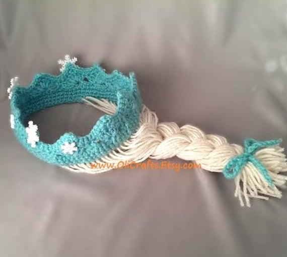 Items similar to Frozen Elsa Princess Crown / Tiara Hair ...