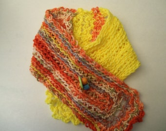 Yellow Multi Neck Warmer