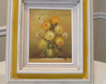 Original Oil Painting by Hilda Clegg Complete With Frame