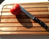 Handcrafted prep board cutting board butcher block