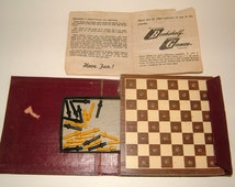 Edwin S Lowe Vol 523 Checkers Set Vintage Checkers Vintage Board Game Traditional Game Family Game Vintage Toy Vintage Game