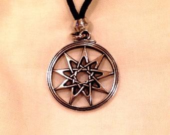 Ninefold Star Goddess Pendant