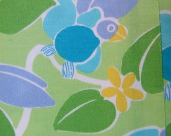 LILLY PULITZER Whimsical Womens Bird Print Cotton Slacks US Size 12