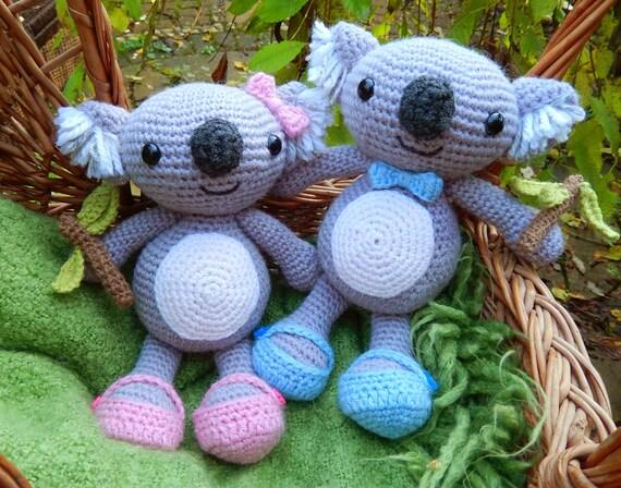 Karl & Karla Koala Amigurumi Crochet Pattern