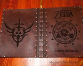 Leather covered copy of The Hyrule Historia