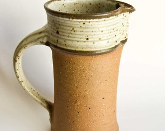 Tall Water Jug, Vase by Stousby, Denmark