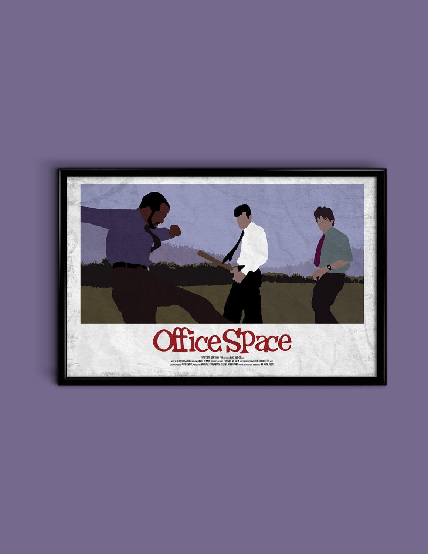 Office Space 11 X 17 Minimalist Movie Poster