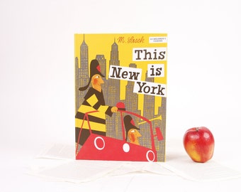 Book iPad Cover- Tablet Case made from a Book- This is New York
