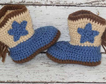 Baby Boy Cowboy Boots, Baby Boy Boots, Baby Cowboy Boots Newborn to 12 months Made To Order