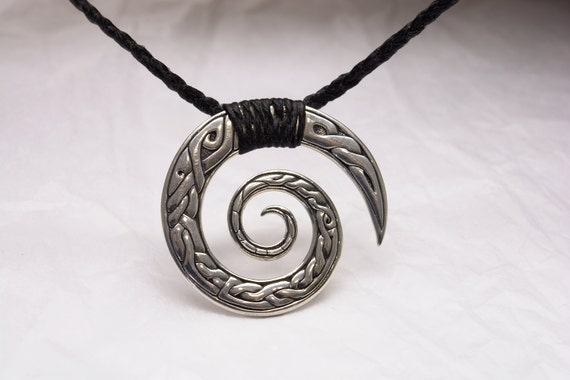 Pendant Sterling Silver Celtic Swirl