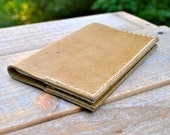 Traveller's Small Sandstone Leather Moleskine Notebook Cover
