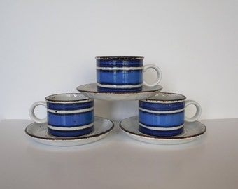 Stonehenge Midwinter Moon Cups and Saucer