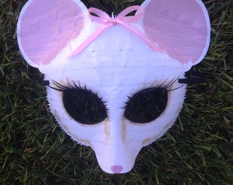 Mouse mask, dormouse, Angelina Ballerina, Alice in wonderland