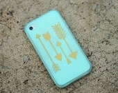 iPhone Gold Arrow Vinyl Decal