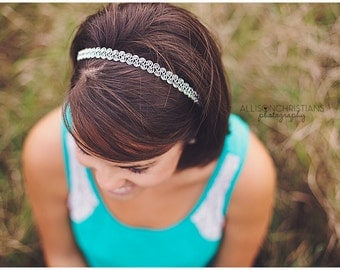 Decorative Silver Headband