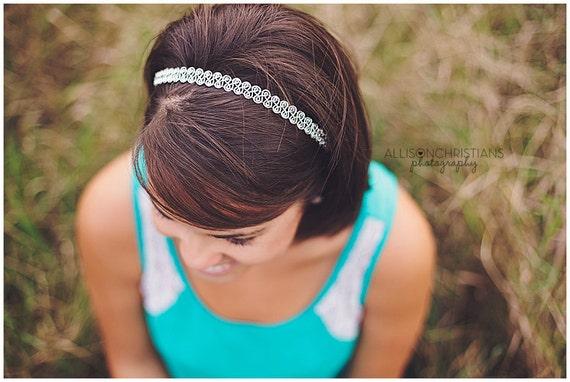 Decorative Silver Headband