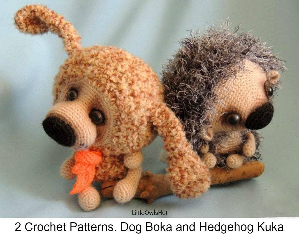 S7 Dog and Hedgehog - Amigurumi Crochet Patterns PDF file ...