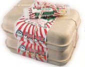 Peppermint Gift Set - Shampoo& Conditioning Bar, Lip Balm, and Soap