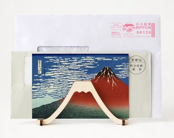 Flat Pack Mt.Fuji Letter Stand