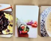 RESERVED LISTING for kristan / winter and summer cookbook set