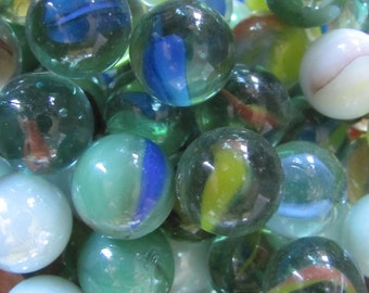 16mm Lilac Crackled Glass Marbles 6 pieces Cracked Crackle ... |Most Desirable Marbles Glass
