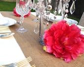 Burlap Table runner, Wedding, 12'' x 144'' long, 12ft, Wedding decor, bridal,decorations, wedding supplis