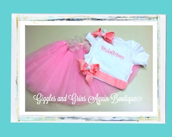Pinkalicious Tutu Set - Perfect for Birthday Parties, Dress-up and Photo Shoots - 6 months to 6 years