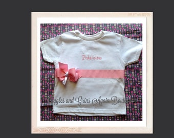 Pinkalicious Ribbon and Bows Tee Shirt - 12 months to 6 years