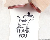 43% OFF SALE dog & thank you Rubber stamp set