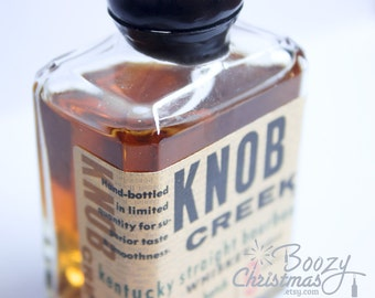 Knob Creek Ornament— Knob Creek Bourbon Themed Christmas Tree Ornament.