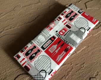MAGIC WALLET - BBQ Black, Red and White