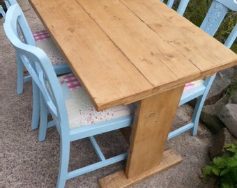 Rustic Reclaimed Dining Table (120cm x 70cm) Custom Sizes Available