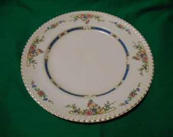 """Two (2), 10"""" Dinner Plates, from Johnson Bros., in the Eastbourne 1949 Pattern."""