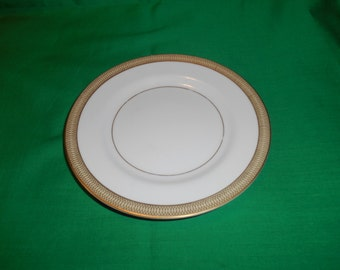"""One (1), 6 3/8"""" Porcelain Bread & Butter Plate, from Mikasa, in the Bristol 8303 Pattern."""
