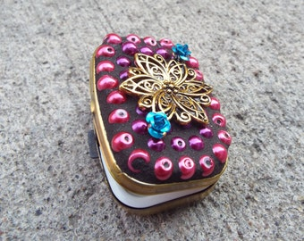 Flower Pill Box, Ring Box, Push Button Pill Box, Rectangle Pill Box, Jewelry Box