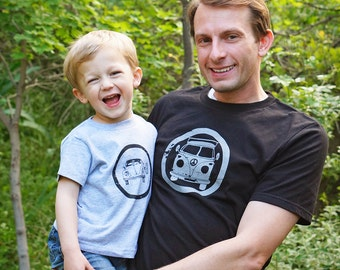 Daddy and Me Set: VW Bus and Bug