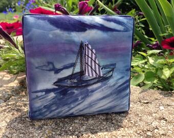 Adrift:  Fiber Art