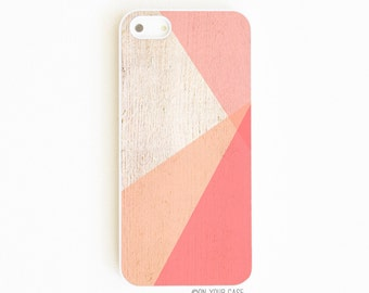 iPhone 5 Case. iPhone 5S Case. Color Block Coral. iPhone 5 Cases. iPhone 5S Cases. Phone Case. Case for iPhone 5.