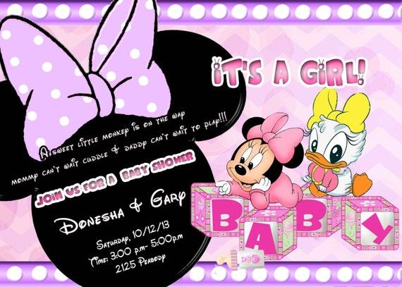 Mickey & Minnie Invitations was great invitation example