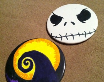 Nightmare Before Christmas Pin Back Buttons
