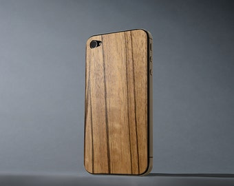 Paldao iPhone 4/4s Real Wood Skin - Made in the USA - FREE Shipping