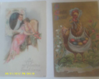 VINTAGE POST CARDS 2 one price