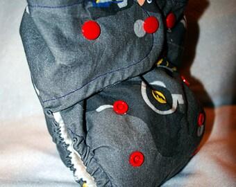 Nananananananana Batman One Size Diaper All-in-One