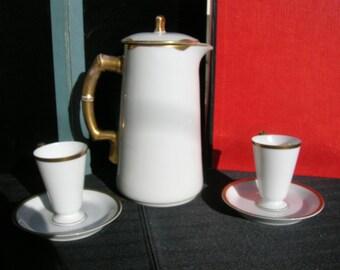 Teapot Cup and Saucer Set