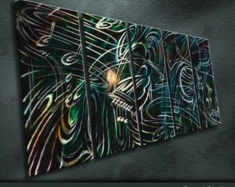 """Original Metal Wall Art Modren Painting Sculpture Indoor Outdoor Decor """"Concerto series"""" by Ning"""