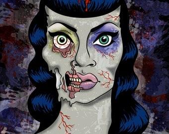 Dead Betty Art Print