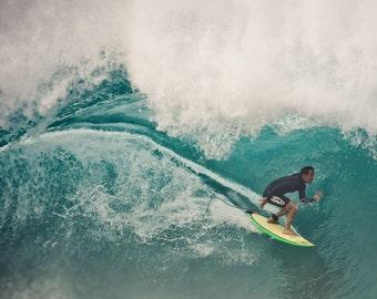 Surf Photography Print - Stoke, North Shore, Oahu, Hawaii - metallic or lustre