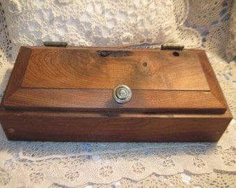 Wooden Storage Box  Darling One of a kind / Not Included in Coupon Discount Sales :)