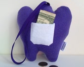 Tooth Fairy Pillow -- Purple